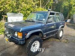 Landrover off roader bobtail range rover classic