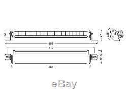 OSRAM LEDriving LED Arbeits & Zusatzscheinwerfer Lightbar FX500-CB LEDDL104-CB