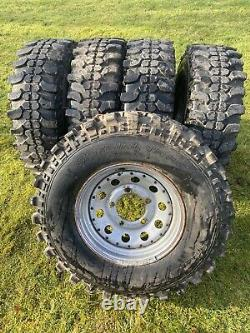 Off Road Wheels And Tyres Modular Insa Turbo Special Track 265/75/16 Landrover