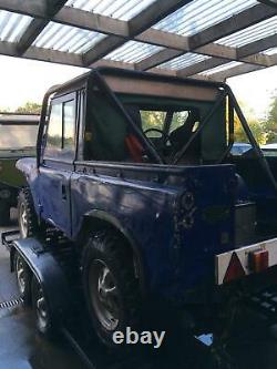 Off road Landrover