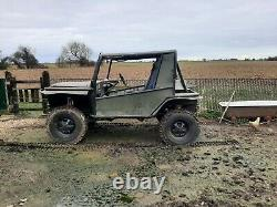 Off road land rover hybrid