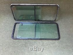 Pair Of Sliding Side Window Off & Near Side For Land Rover Defender 90 110