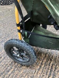 Pegasus Landrover Pram Green Off Road Push Chair