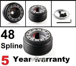 Quick Release Steering Wheel And Boss Kit Fit Land Rover Defender 48 Spline