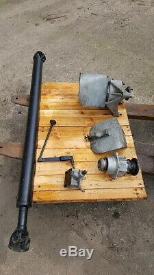 RARE FIND Land Rover Series Rear Power Take-off Assy, with original guard