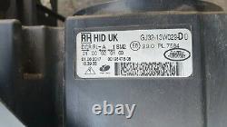 Range Rover Evoque Right Off Side Drivers Headlight Headlamp Gj32-13w029-d