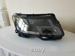 Range Rover Vogue L405 Led Headlight 2018 On Driver Right Off Side Jk5213w029bc