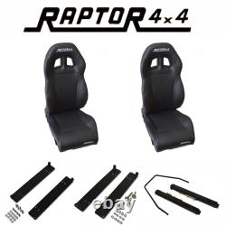 Raptor 4x4 Expedition Heated Sport Bucket Seats For Land Rover Defender Off Road