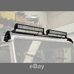 Raptor 4x4 Roof Fitting LED Light Bar Roof Mount Off Road Land Rover Recovery