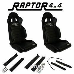 Raptor 4x4 by Sparco Land Rover Defender Seat Kit Off Road Bucket Seat Comfort