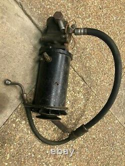 Rare Land Rover Series Dynamo With Take Off. Possibly Go On P4 P5 As Pics