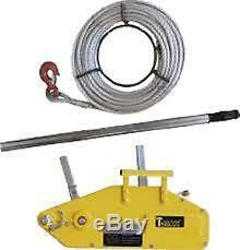 T-MAX HAND WINCH 1600kg rated capacity. Off-roading tree surgeon recovery