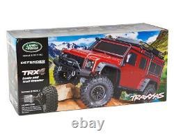 Traxxas TRX-4 Land Defender Crawler 110 rot TRX82056-4R