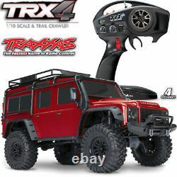 Traxxas TRX-4 Land Rover Defend Crawler Red 1-10 Defender 2,4 GHZ TRX82056-4R
