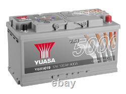 YUASA Car Battery YBX5019 Calcium Silver Case SMF SOCI 12V 900CCA 100Ah