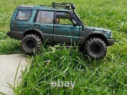 118 Land Rover Discovery Series II Metallic Green Off Roader 4x4 Code Modifié3