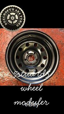 16 X 8 Moduler Roues Land Rover Td5 Off Road 4x4