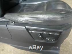 2009 Découverte 3 Sièges Noirs Doux X7 En Cuir Avec Fixings Land Rover K13030