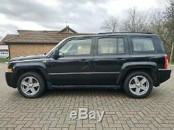 2010 Jeep Patriot 4x4, 2.0 Diesel, Noir. Comme Grand Cherokee, Land Rover, Off Road