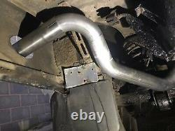 2 X Land Rover Discovery 2 Side Exit Exhaust Stainless Steel Off Road Use Nouveau