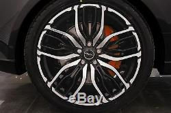 4 X Overfinch Jantes 22 Forged Equus Gloss Black Diamond Turned Jantes En Alliage