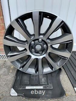4 X Véritable Range Rover 21 Style 1001 Diamond Turned Finish Alloy Wheels