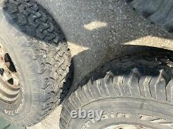 4x Bf Goodrich All-terrain 31x10.50r15lt Hors Route 4x4 Land Rover Defender Wheel