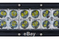 50 300w Courbe Led Cree Light Bar Combo Ip68 Lumière Off Road Driving 4 Roues Motrices Bateau