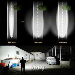 52inch 3 Rangée Led Courbée Lumière Barre Combo Beam Pour Hors Route 4x4 Suv Wiring Harness