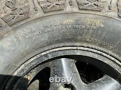 5 Roues En Alliage Land Rover Avec Dick Cepek Crusher Lt285/75r16 Pneumatiques Hors Route
