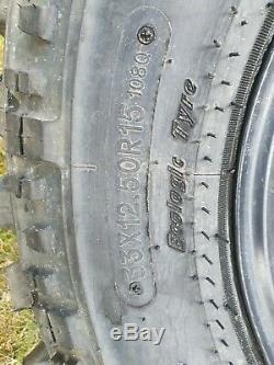 5x Land Rover Defender Discovery 1 Crr 33x12.50r15 Boue Roues Et Pneus Hors Route