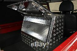 Aluminium Seul Couvercle Boîte À Outils De Camion Box Pour Land Rover Defender 90 110 Off Road