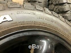 Bf Goodrich 17 Et Jantes Bf Tires Goodrich Mud-terrain Km2 Landrover Hors Route