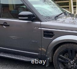 Black Side Steps Running Boards Land Rover Discovery 3 & 4 2009-17 4x4 Tout-terrain