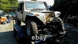 Buggy Land Rover De Jeep Large V8 Gpl Auto Et Remorque