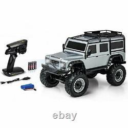 Carson Land Rover Defender Crawler 18 Prêt À Courir Rc Car Silver C404172