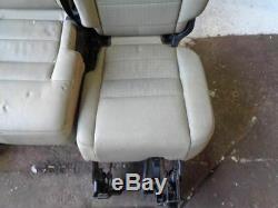 Découverte 3 Sièges Arrière Tundra En Cuir Vert Land Rover (2004-2009) # 07039