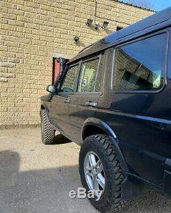 Découverte Land Rover Td5 2004 Hors Route Non Défenseur