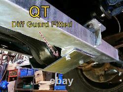Defender Track Rod Guard Steering Guard Gwynlewis4x4 Barres Sumo Hors Garde De La Route