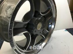 Défenseur De La Retraite Des Terres 16 Bosse Off-road Grand Et Alloyé Polishé Wheel, 8j X 16 Nouveau