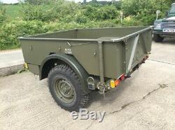 Ex Mod Land Rover Penman Léger Gs Cargo Trailer / Off Road / Expédition