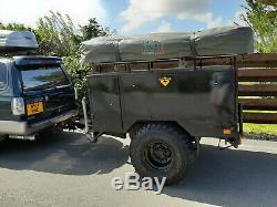 Expédition Sankey Land Rover Remorque Overland Off Road Camping + Toit Tente