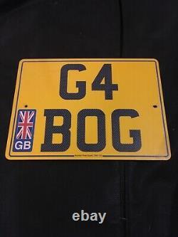 G4 Bog Private Number Plate G4 Challenge Land Rover Off Road 4x4 Range Rover 4xd