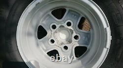 Genuine Land Rover Defender 16 Boost Alloy Wheels Pneus 235/85r16 Nouveau Décollage