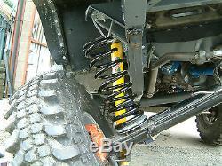 Gwynlewis4x4 Kit De Suspension Challenge Sur Le Terrain Choc Tourelles Supports