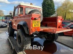 Hors Route Land Rover Defender Lift Kit Cabine 90 Camion, Pièces Terrafirma Projet Amusant