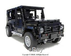 Jeep Wrangler 4x4 Lifted Rubicon Tout-terrain Mercedes Lego Land Rover 42110 Compi