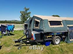 Kanga Tente Remorque. Expédition. Hors Route. Land Rover. Australien