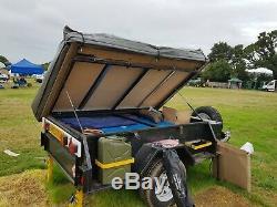 Kanga Tente Remorque. Pas Sankey. Expédition. Hors Route. Land Rover. Australien