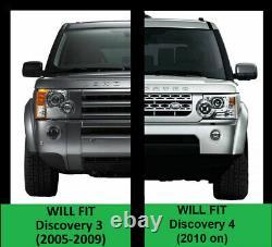 Kit De Curseur De Roche Hors Route Pour Land Rover Discovery 3 4 Tubes De Barres D'arbre D'étapes Latérales